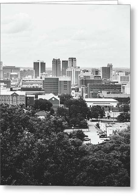 Greeting Card featuring the photograph Rural Scenes In The Magic City by Shelby Young