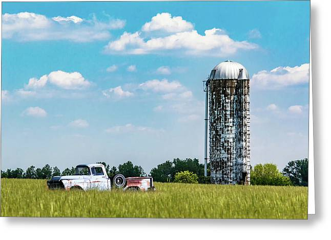 Rural Greeting Card by Tom Mc Nemar