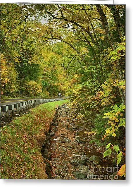 Rural Vermont Beauty Greeting Card by Deborah Benoit