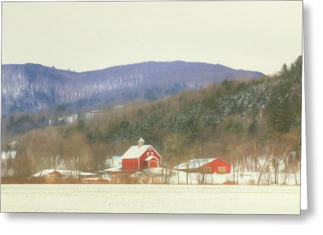 Rural Vermont Greeting Card