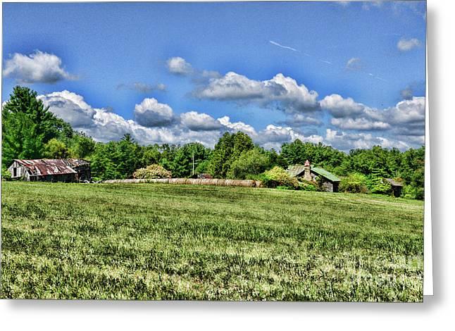 Rural Virginia Greeting Card by Paul Ward