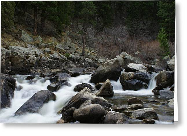 Rushing Calm Greeting Card by Brian Anderson