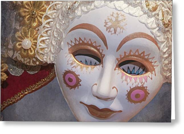 Russian Mask 4 Greeting Card by Jeff Burgess