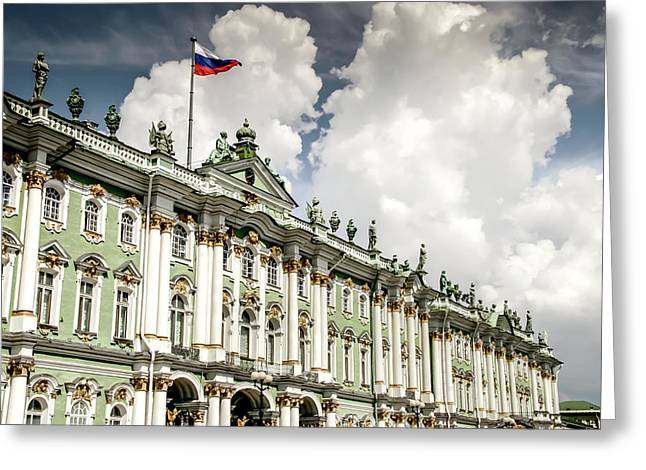 Russian Winter Palace Greeting Card