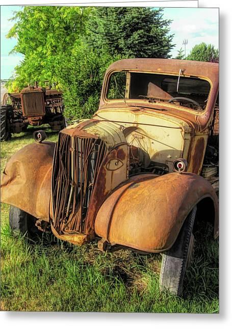 Rust Buddies Greeting Card