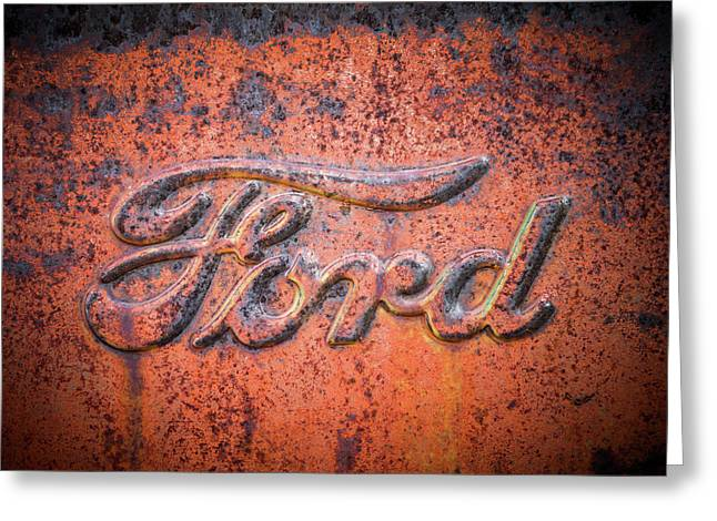 Rust Never Sleeps - Ford Greeting Card by TL Mair