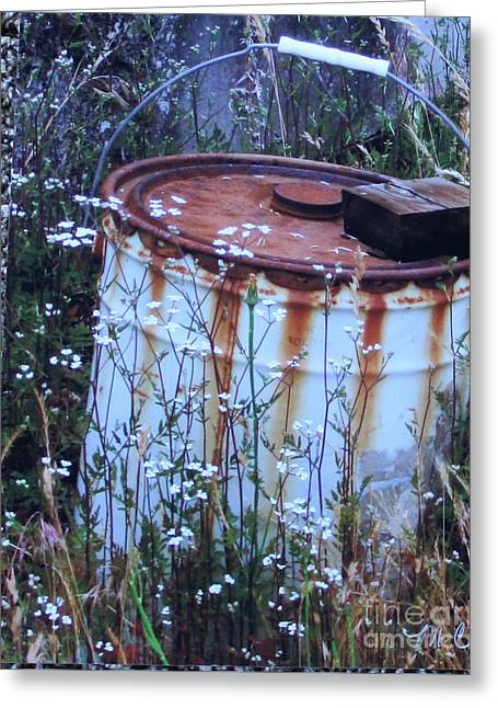 Rust Never Sleeps Greeting Card by Marie Neder