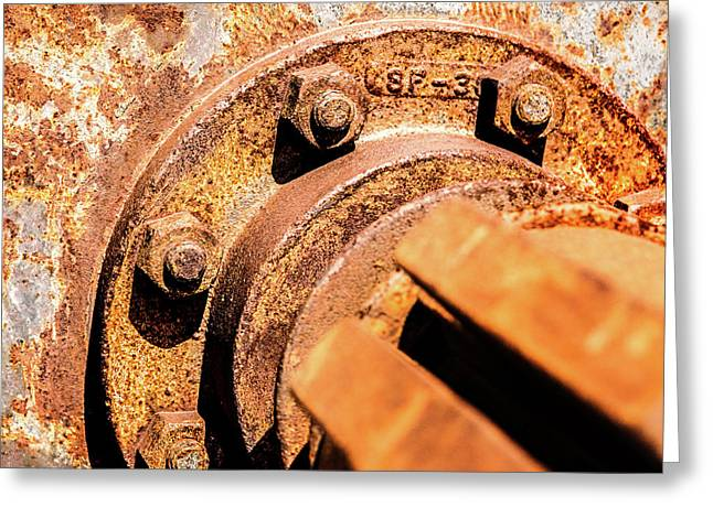 Greeting Card featuring the photograph Rust by Onyonet  Photo Studios