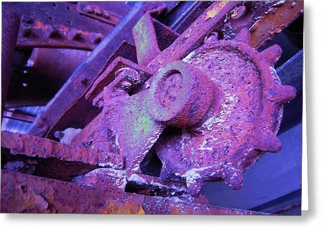 Rust Sleeping Greeting Card by Don Struke