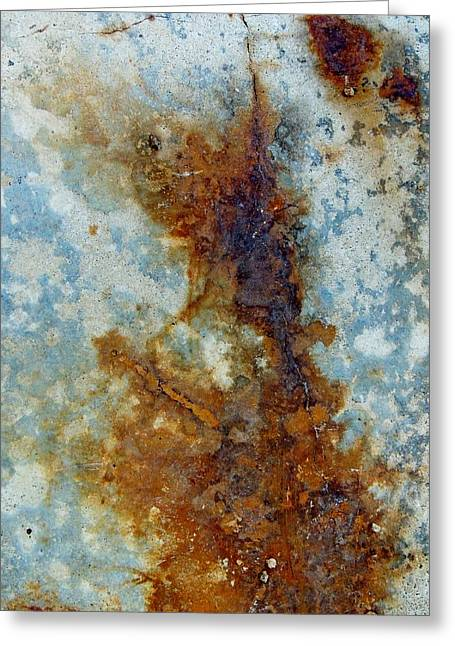 Rusted Abstraction 2 Greeting Card