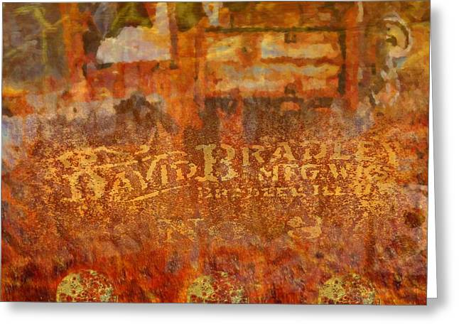Rusted Glory 313 Greeting Card by Desiree Paquette
