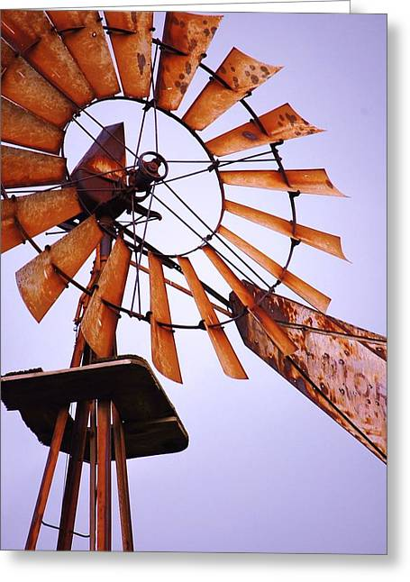 Rusted In The Past Greeting Card by Jame Hayes