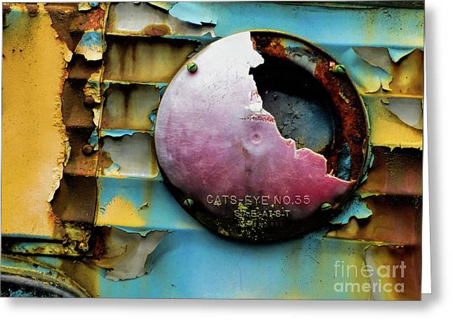 Rusted Series 3 Greeting Card by Laura Atkinson