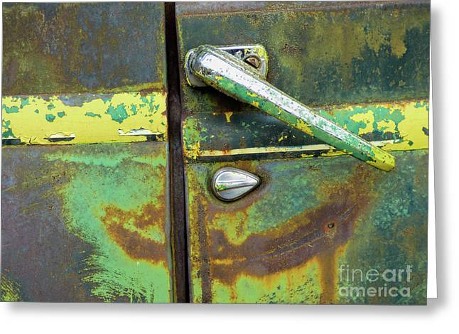 Rusted Series 4 Greeting Card by Laura Atkinson