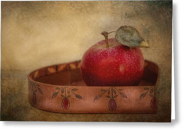 Rustic Apple Greeting Card