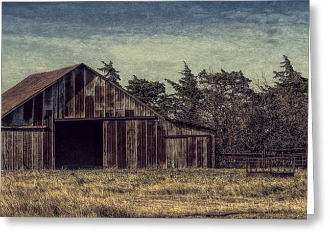 Rustic Barn Greeting Card