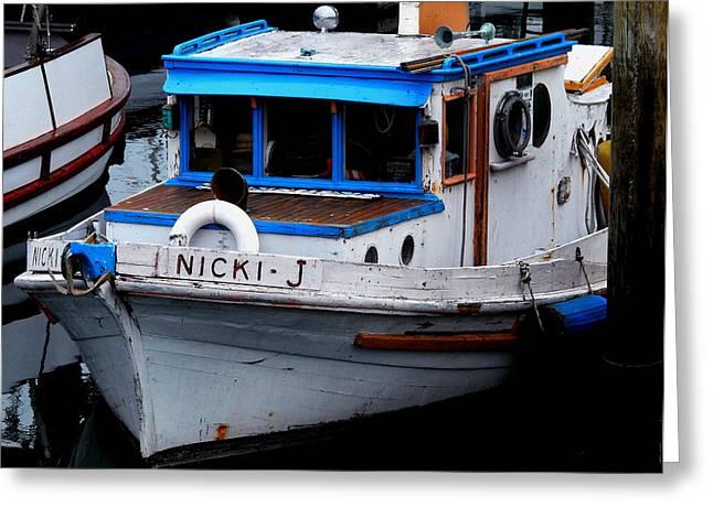 Rustic Boat Greeting Card