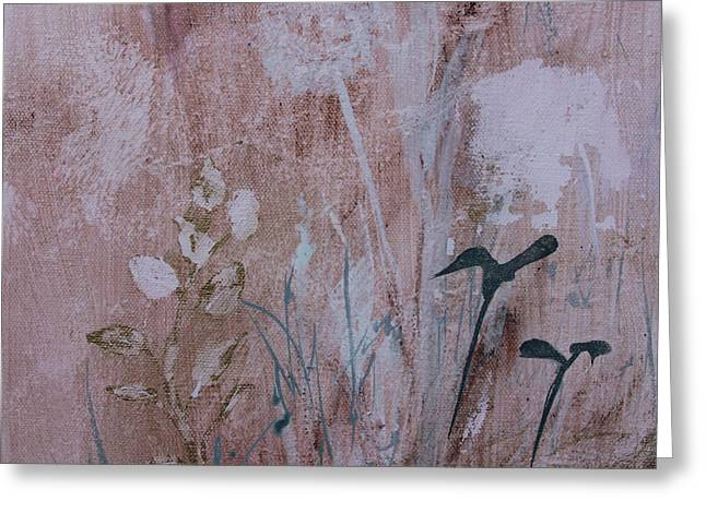 Greeting Card featuring the painting Rustic Breeze by Robin Maria Pedrero