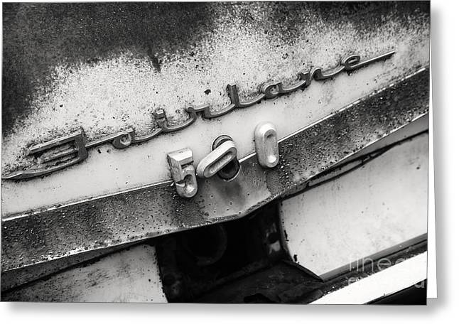 Rustic Fairlane Greeting Card by Dennis Hedberg