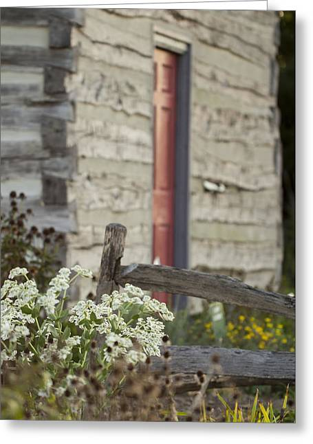 Rustic Home Greeting Card by Andrea Kappler