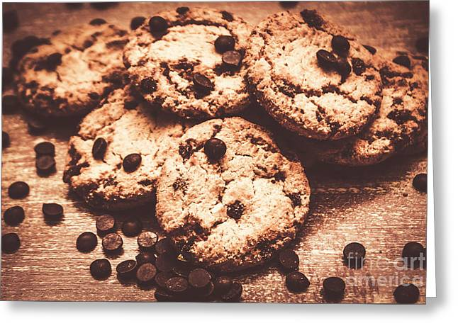 Rustic Kitchen Cookie Art Greeting Card by Jorgo Photography - Wall Art Gallery