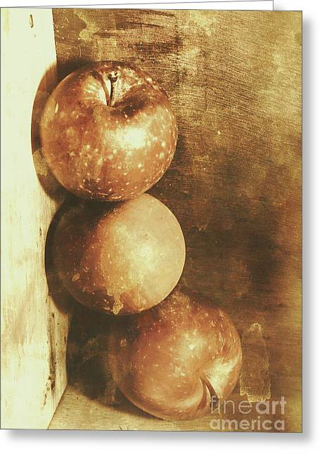 Rustic Old Apple Box Greeting Card by Jorgo Photography - Wall Art Gallery