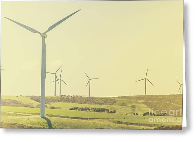 Rustic Renewables Greeting Card