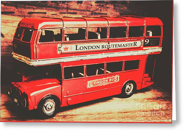 Rustic Routemaster Greeting Card