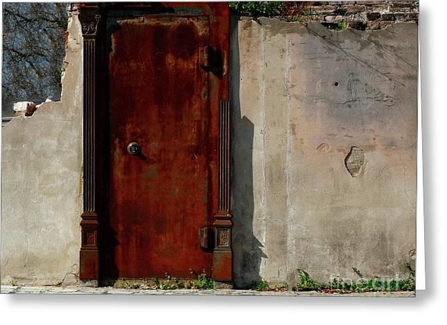 Greeting Card featuring the photograph Rustic Ruin by Lori Mellen-Pagliaro