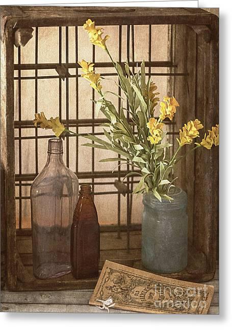 Rustic Still Life 4 Greeting Card by Teresa Wilson