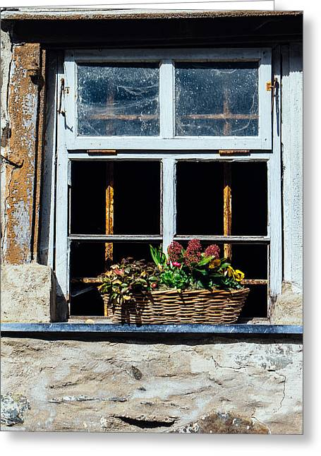 Rustic Window Greeting Card by Pati Photography