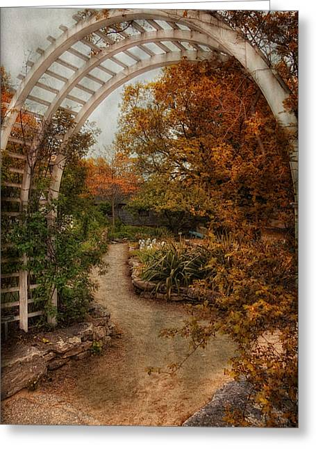 Rusting Garden Greeting Card