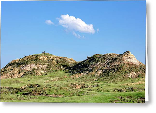 Rusty Buttes Greeting Card