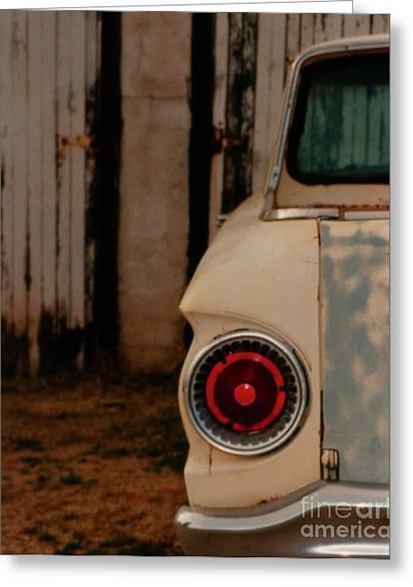 Rusty Car Greeting Card by Heather Kirk