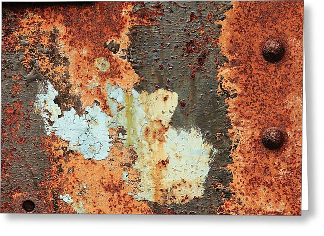 Rusty Layers Greeting Card