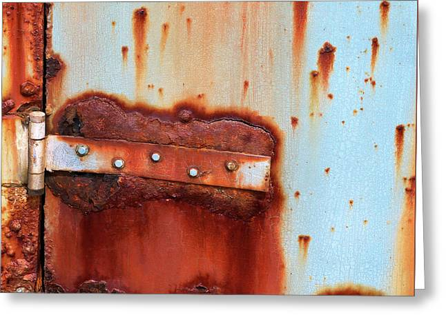Rusty Outbuilding Greeting Card by Art Block Collections