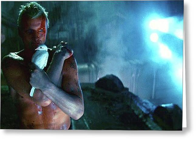 Rutger Hauer Number 2 Blade Runner Publicity Photo 1982 Color Added 2016 Greeting Card