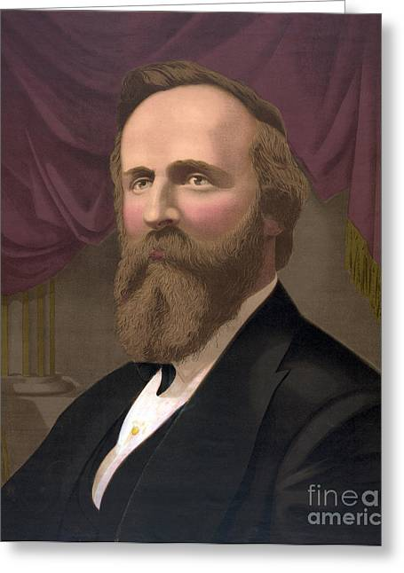 Rutherford B. Hayes, 19th U.s. President Greeting Card