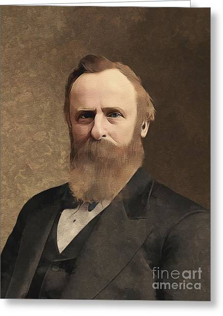 Rutherford B. Hayes, President Greeting Card