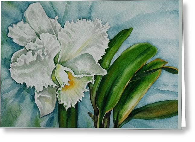Ruth's Orchid Greeting Card