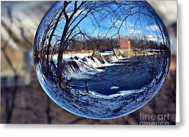 Rutland Dam Two Greeting Card