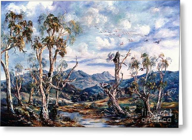 Rwetyepme, Mount Sonda Central Australia Greeting Card