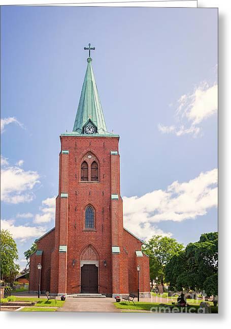 Rya Church Steeple Greeting Card