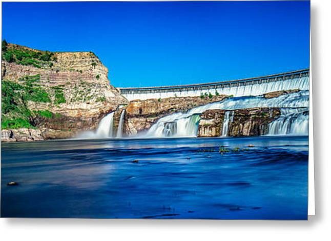 Ryan Dam Greeting Card by Todd Klassy