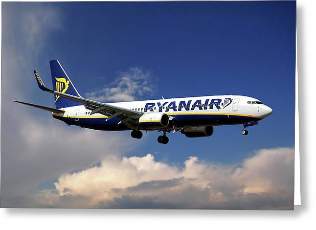 Ryanair Boeing 737-8as  Greeting Card