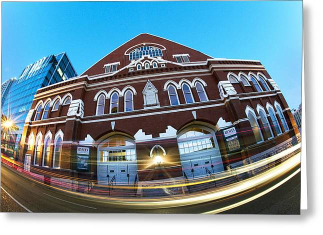 Ryman  Greeting Card by Giffin Photography