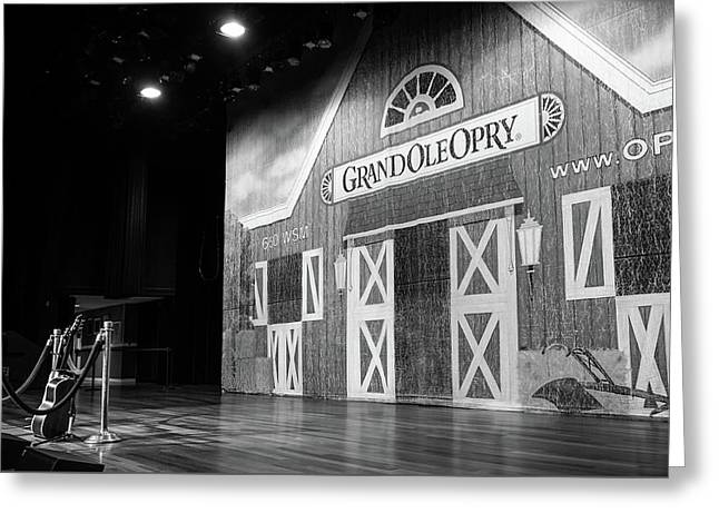 Ryman Opry Stage Greeting Card