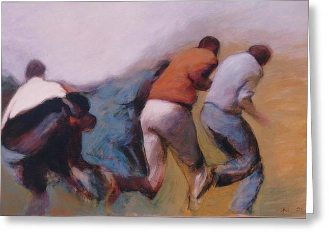 S African Series II Greeting Card by James LeGros