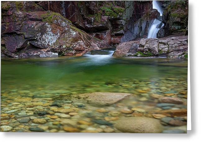 Sabbaday Falls Pool Greeting Card by Bill Wakeley