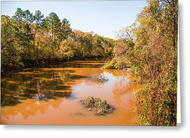 Sabine River Near Big Sandy Texas Photograph Fine Art Print 4080 Greeting Card by M K  Miller